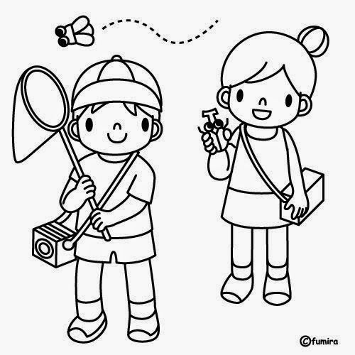Dibujos Para Colorear Maestra De Infantil Y Primaria El Colegio Dibujos Para Co Ninos Corriendo Para Colorear Dibujo De Ninos Jugando Dibujos Para Colorear