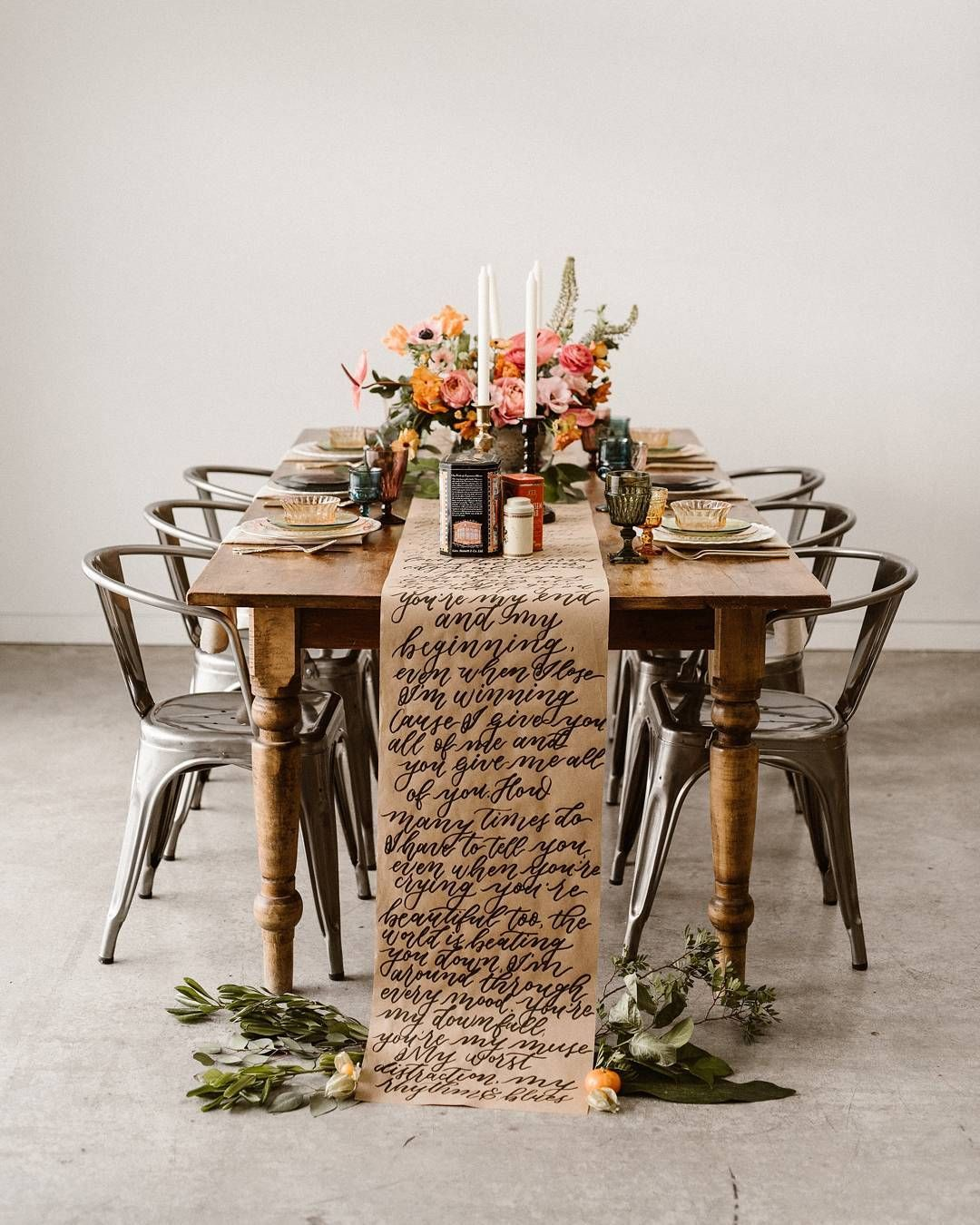 boho wedding table bohemian tablescape dinner party ideas follow rh pinterest com