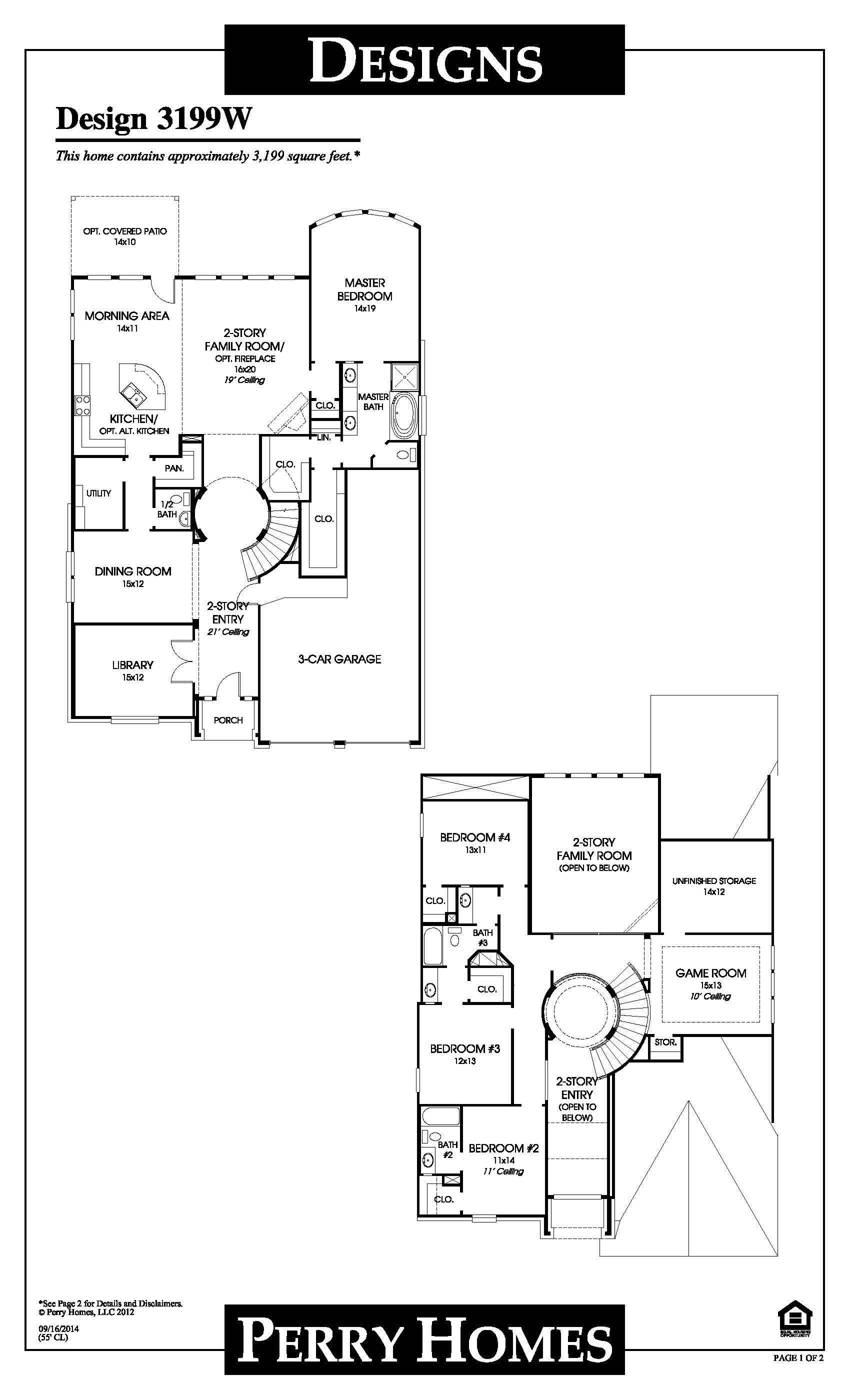 Perry Bridgeland Break Ground For Ghba Benefit Home House Floor Plans Floor Plans Perry Homes