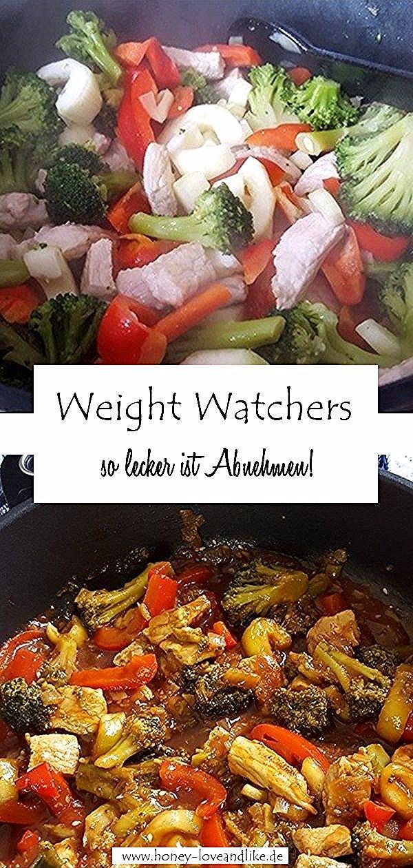 WW Brokkolipfanne aus dem Weight Watchers Kochbuch #WeightWatchers  #ww #Fitness #abnehmen #Proteinb...