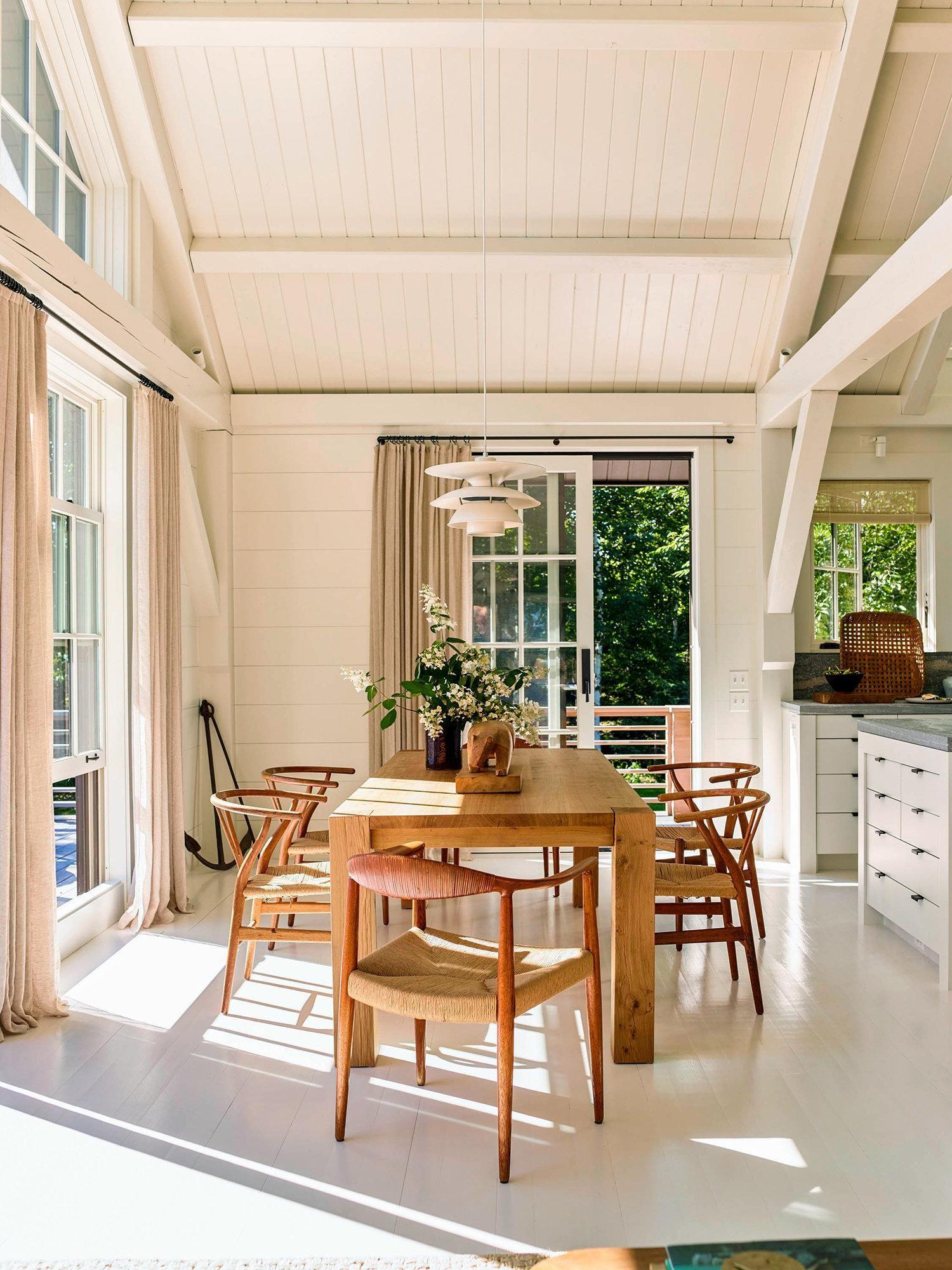 a classical designer s modern house in maine rh pinterest com