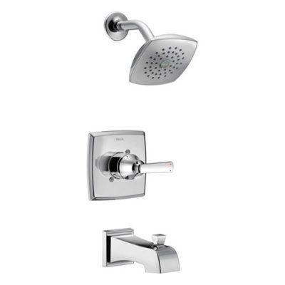 delta ashlyn monitor 14 series t14464 tub shower trim in 2019 rh pinterest com