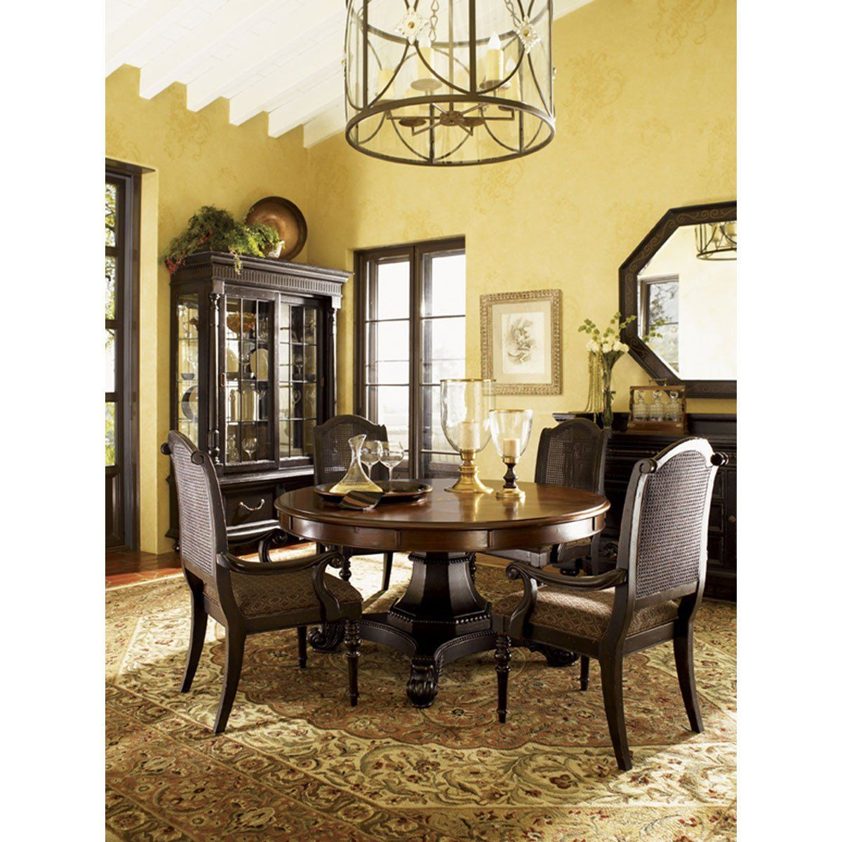 Tommy Bahama Kingstown Bonaire Round Dining Table 621 870c Round