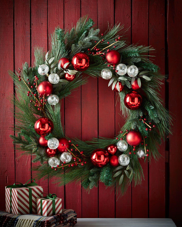 Shop Classic Red u0026 Green Wreath at