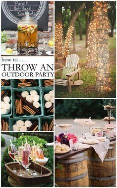 DIY Outdoor Games And Party Ideas