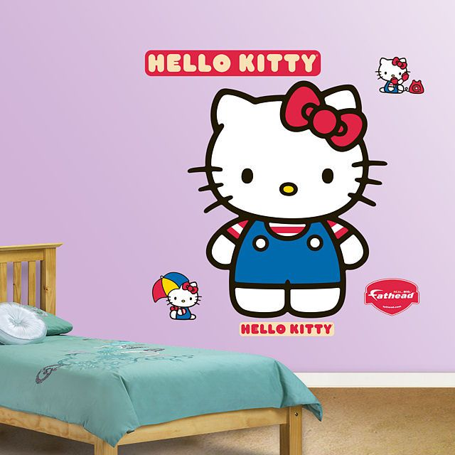 Fathead Hello Kitty Wall Decal   Wall Sticker Outlet