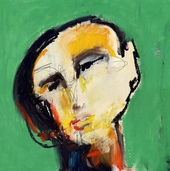 Abstract Face Print Abstract Face Art Abstract Man Portrait Etsy Modern Art Abstract Modern Art Paintings Abstract Modern Art Paintings