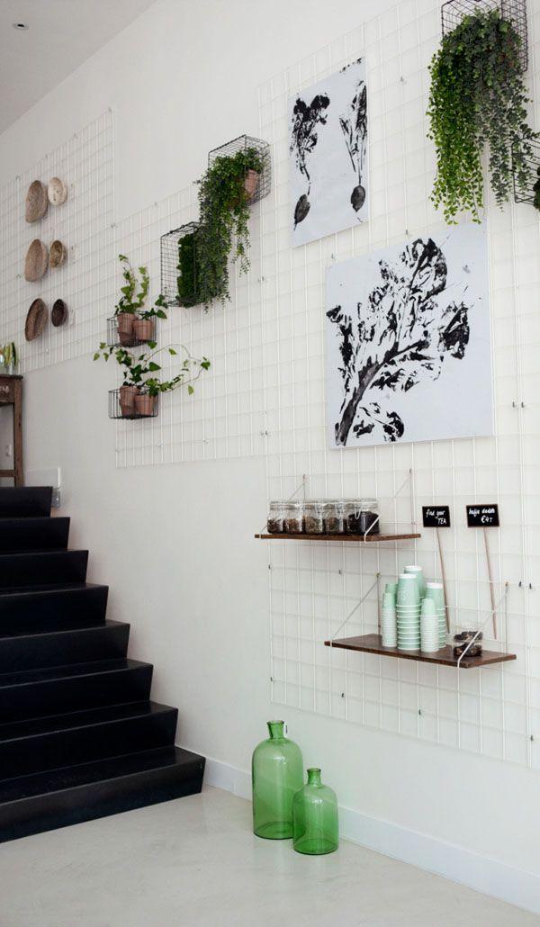stauraum ideen und kreative wohnideen - drahtregale für jeden raum, Innenarchitektur ideen