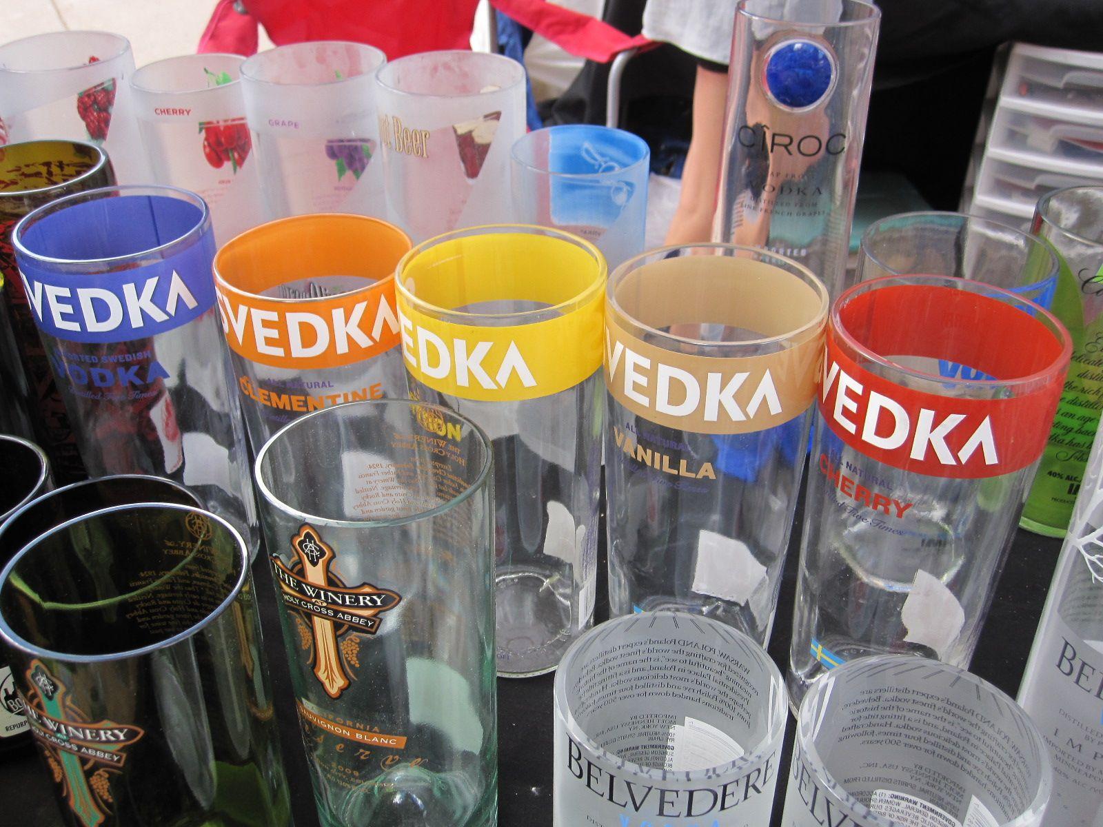 Svedka glasses! http://www.bottlehood.com/