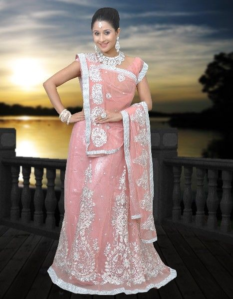 608087a0ab Indian Lengha Embroidered | indian bridal | Indian lengha, Indian ...