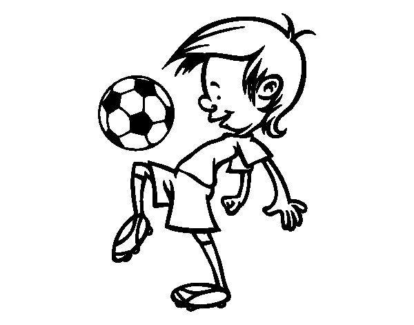 Dibujo De Toques Con El Balón Para Colorear Tazas En 2019