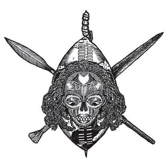 Zulu | Slim Fit T-Shirt | Truth | African tattoo, African warrior