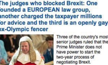 MailOnline Mocked And Derided After Targeting Brexit Judge For Being 'Openly Gay'