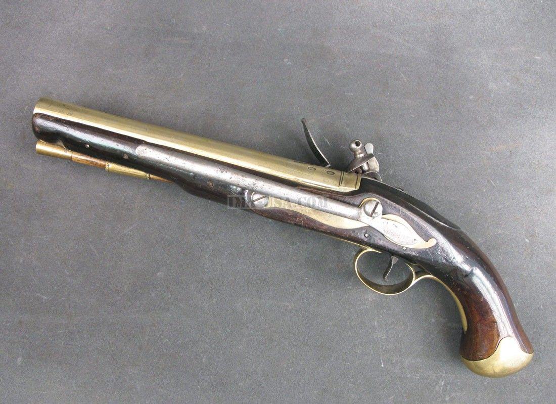 Double pistol handgun revolver gun display case cabinet rack shadowbox - Non Firing Replica Of George Washington S 1748 Hawkins Flintlock Pistol The Original Is On Display At The West Point Museum