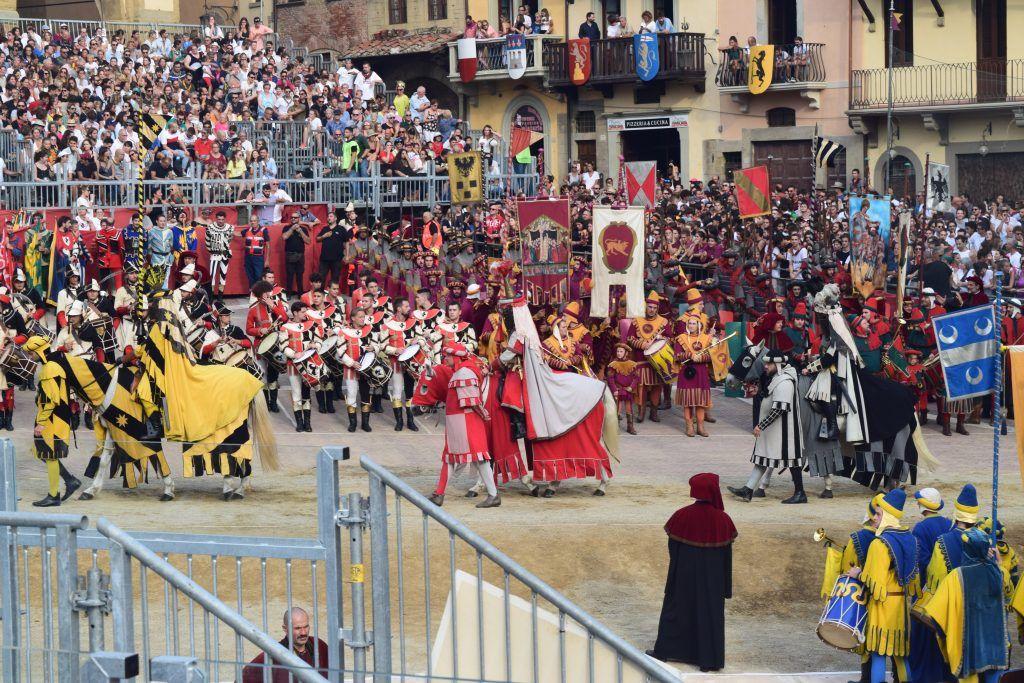 Photo of Arezzo in Tuscany