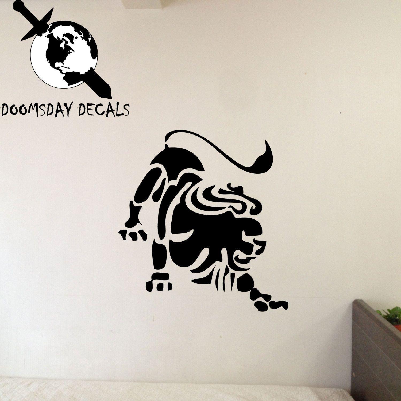 Leo zodiac symbol silhouette 5th sign lion vinyl wall decal leo zodiac symbol silhouette 5th sign lion vinyl wall decal comes in biocorpaavc