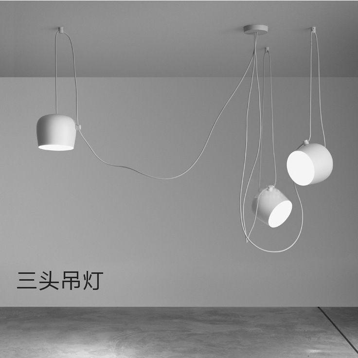 Ikea danemark designer aluminium pendentif lumière araignée lampe lampe déco luminaire suspendu luminaire moderne hanglampen dans éclairage suspendu de