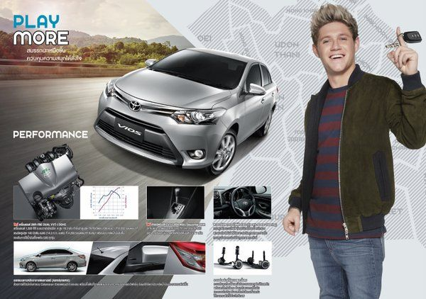 Niall for Toyota Vios