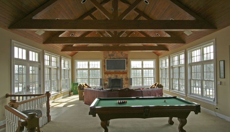Family room addition plans game room and family room for Room addition plans free