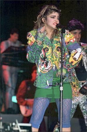 Madonna 1985 Radio City Music Hall Nyc Madonna Fashion Madonna Rare 80s Fashion