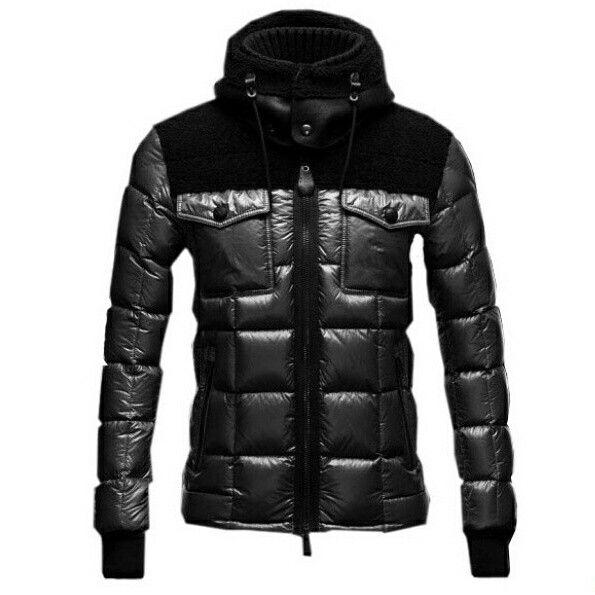 Moncler Lazare Down Jacket Fashion Men Short Black #moncler #downcoat  #blackcoat #fashionformen