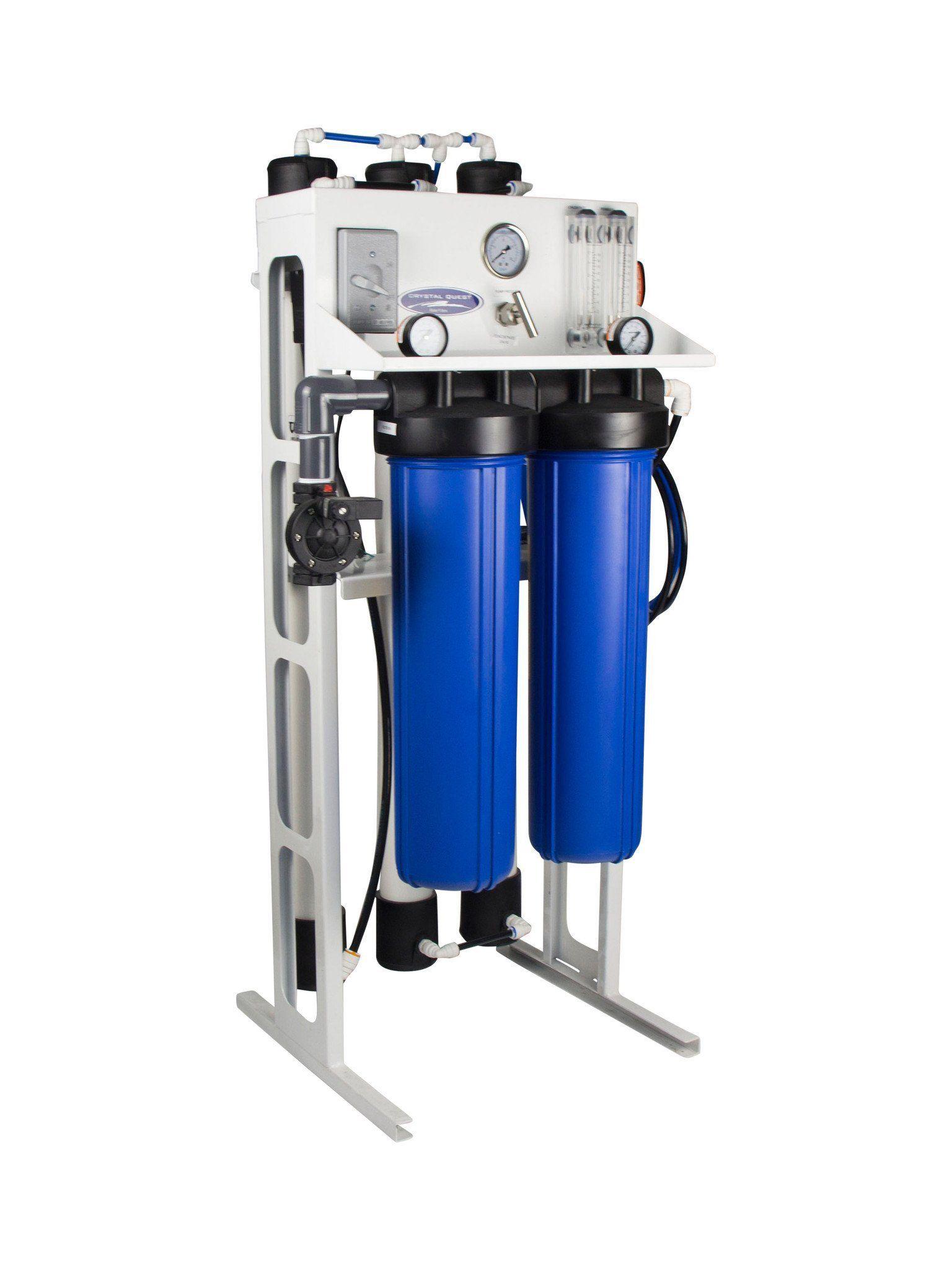 Midflow reverse osmosis system reverse osmosis reverse