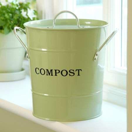 Patio Garden Compost Container Compost Bucket Compost Pail