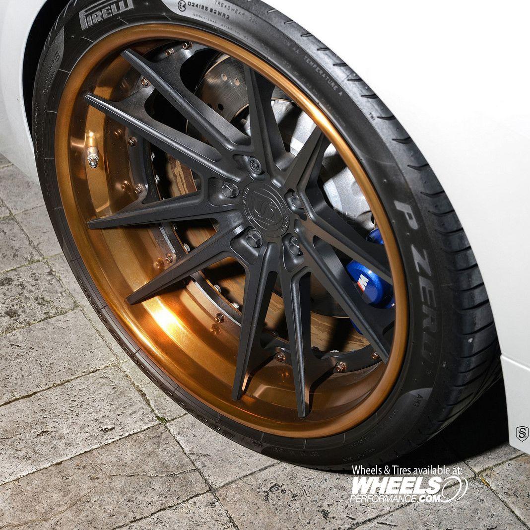 Strasse Forged SV1-FS Deep Concave Wheels Matte Black