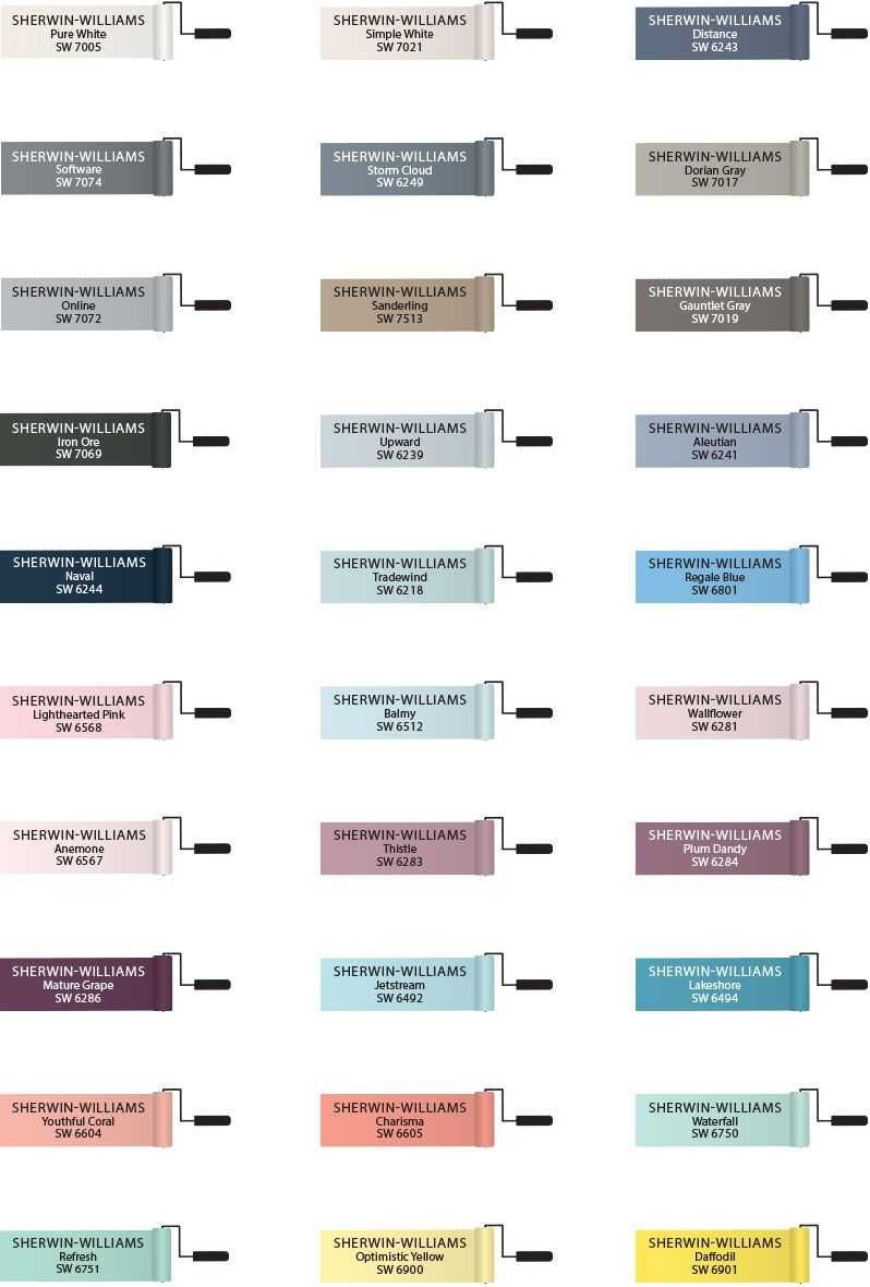 Pottery Barn Paint Colors Color Chart 2018 With Fascinating Kids