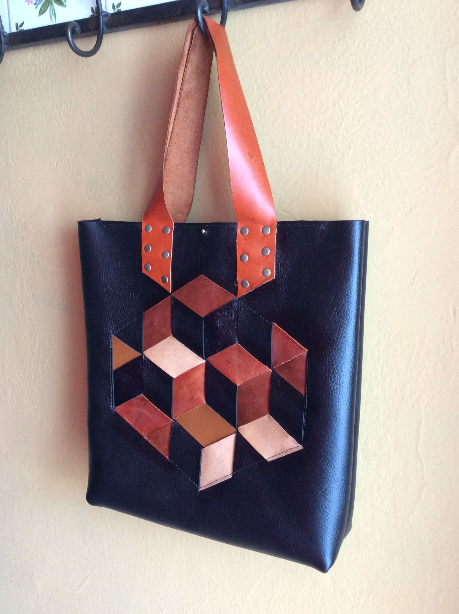 #leather #tote #handcraft by Diego Haristoy