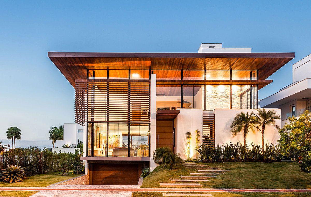 Casa de una planta minimalista planta de casa pequena com for Casa minimalista rosario