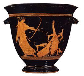 Pan Painter S Name Vase Greek Vases History