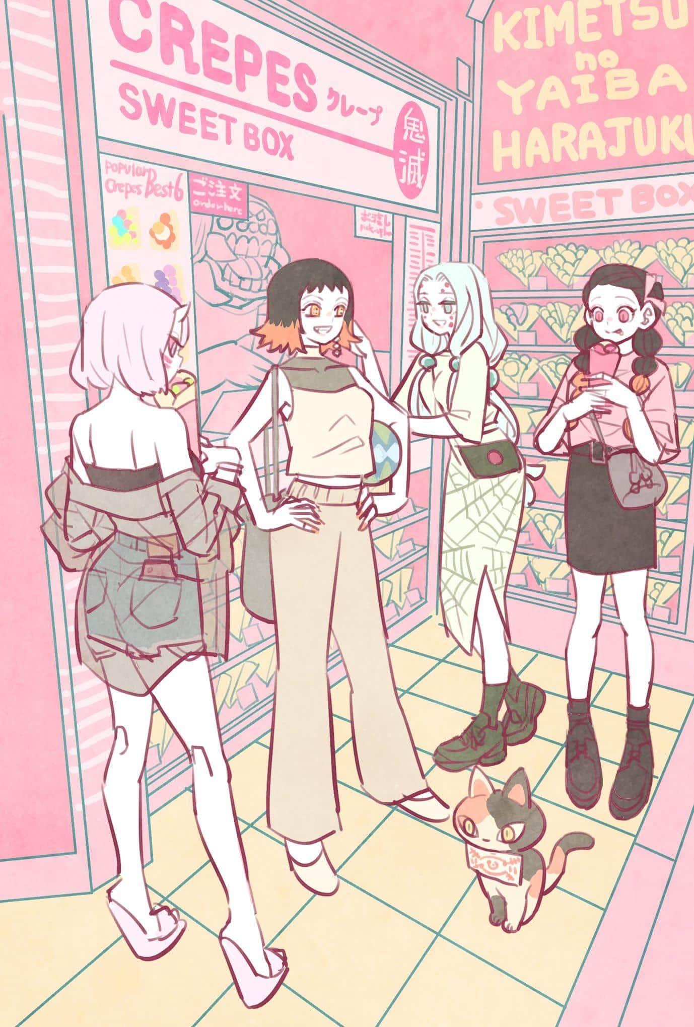 Pin by Hắc Miêu on [Oni] Kimetsu [Quỷ] in 2020 Anime