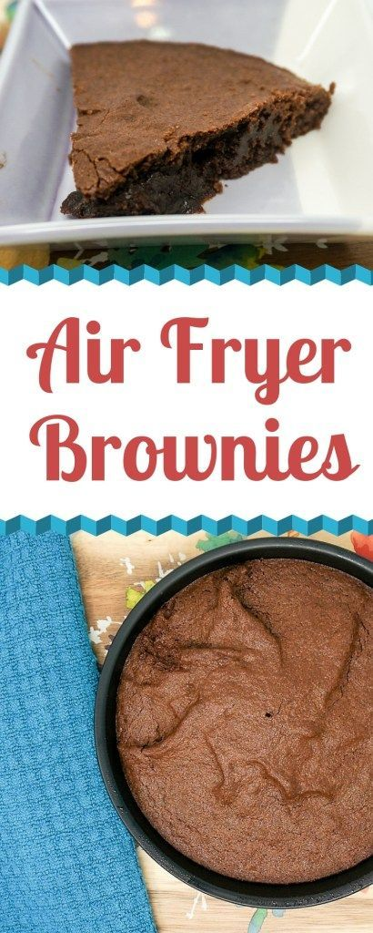 Air Fryer Brownies #airfryerrecipes