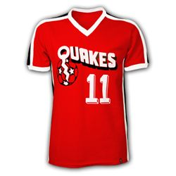 hot sales 8a636 baa31 Retro 1981 San Jose Earthquakes Home Shirt - they played in ...