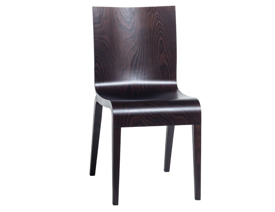 Coffee Simple Dining Chair By Olgoj Chorchoj For Ton Dining