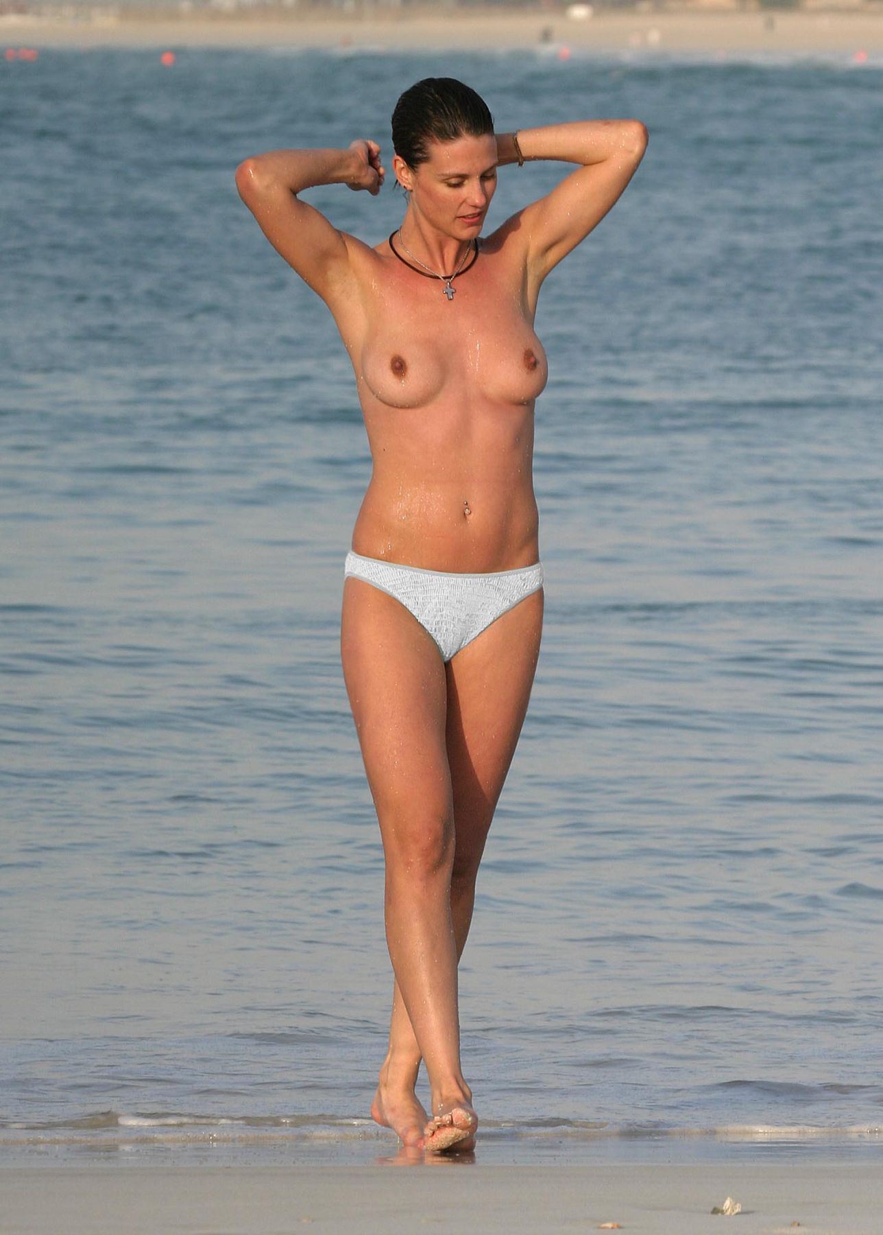 topless Heather peace