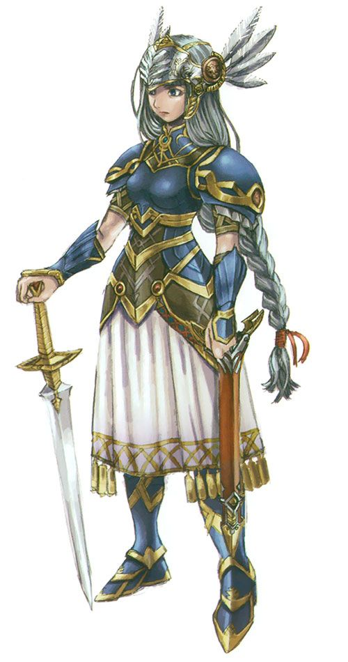 valkyrie profile 2 lenneth concept concept characters