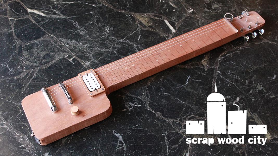 Diy Electric Lap Steel Guitar Out Of Plywood Lap Steel Guitar