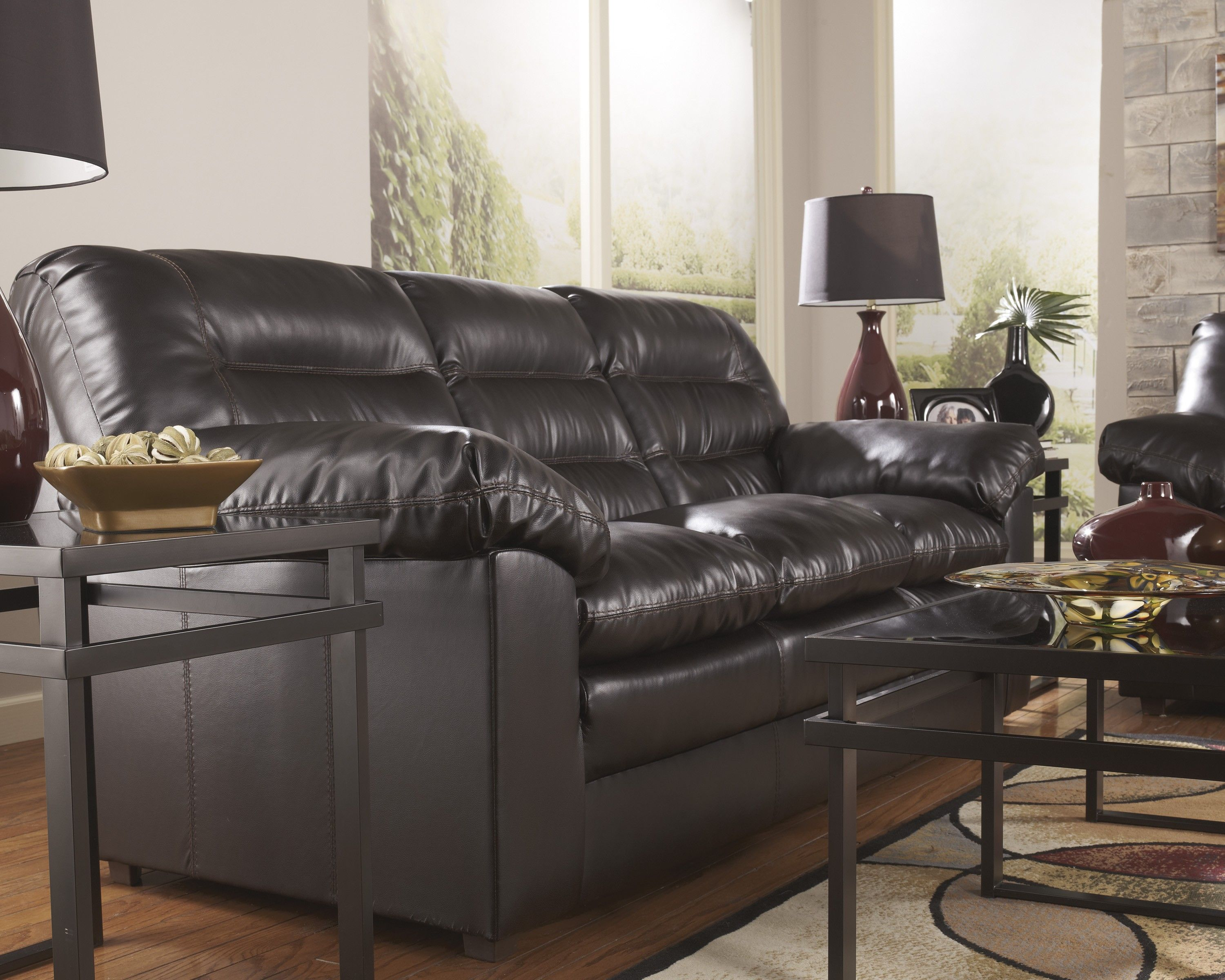 ashley furniture modern sofa tribeca leather cool couch good 28 in living room ideas with