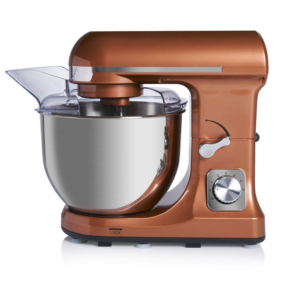 Copper effect 45l stand mixer kitchen blenders copper