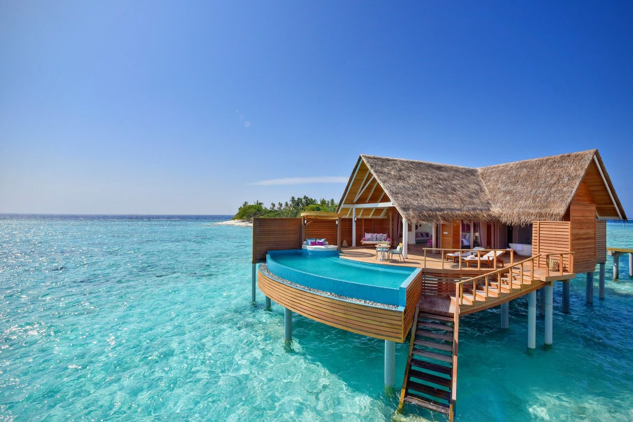 Maldives So Beautiful I Just Wanna Lie On A Beach Chill In My - Angsana velavaru resort surrounding by blue waters with tropical and contemporary styles maldives