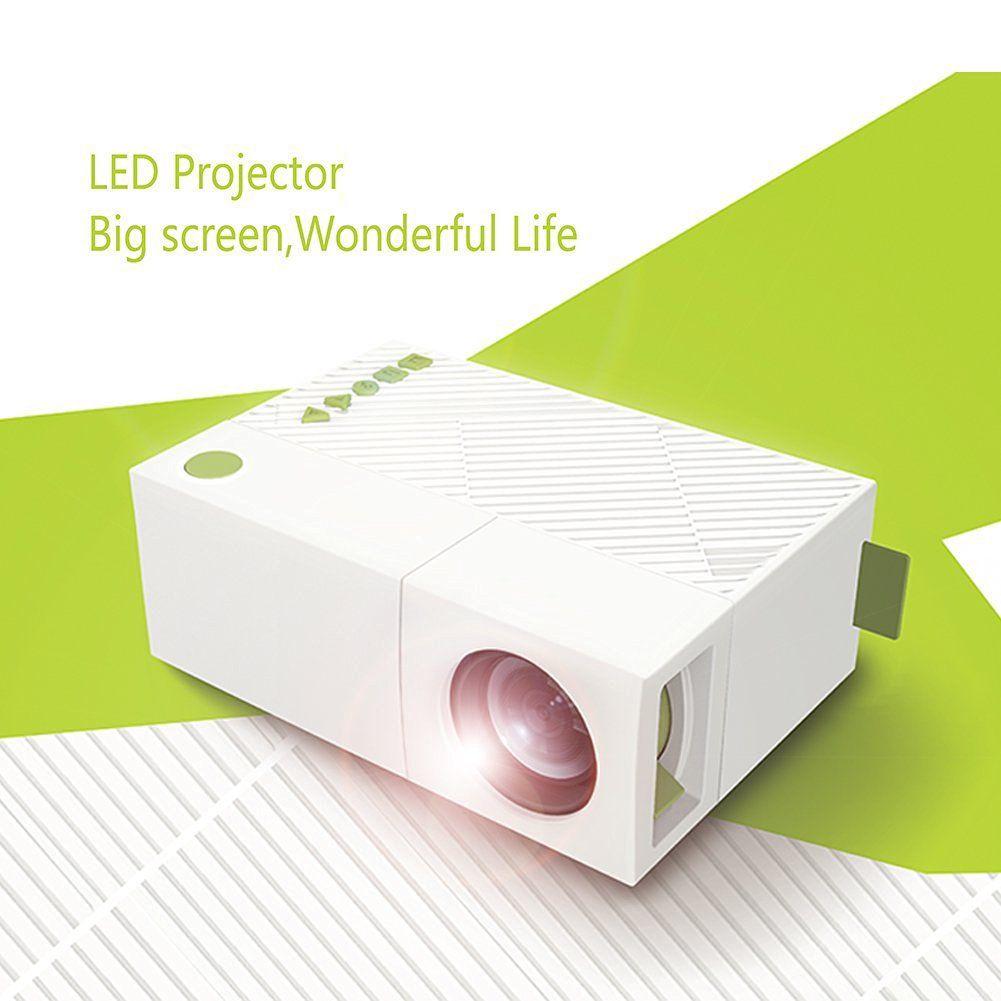 WEILIANTE Mini LED HD Projector Home Theatre Cinema Video ...