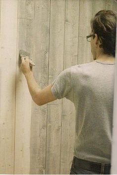 lasure la bi re patines pinterest lambris lasure et bois. Black Bedroom Furniture Sets. Home Design Ideas