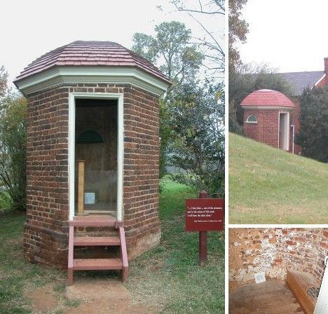 Outstanding In Their Field 10 Outrageous Outhouses Urbanist Outhouse Octagon House Brick