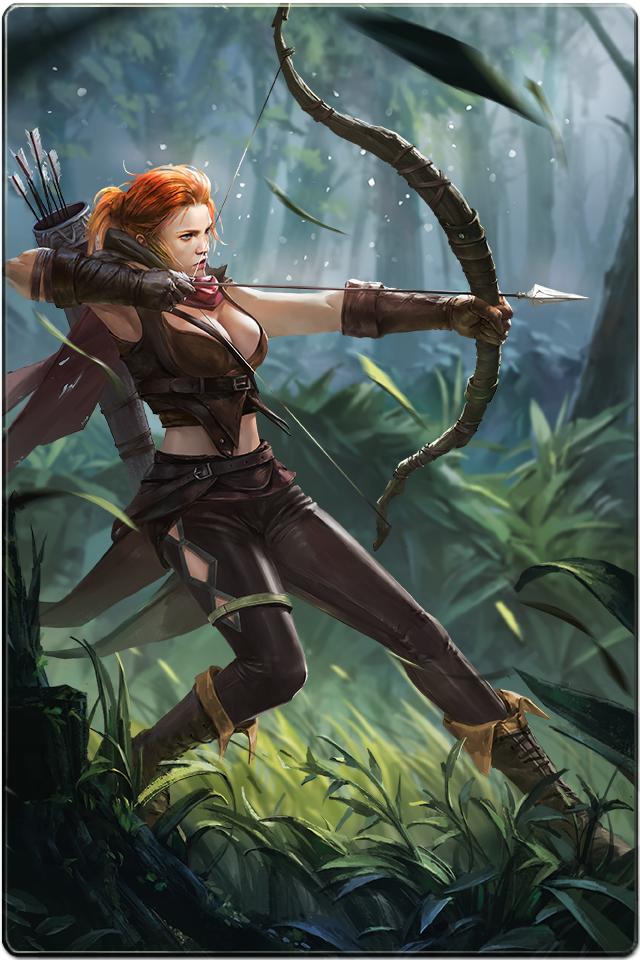 Ranger | Fantasy art warrior, Fantasy art women, Character art