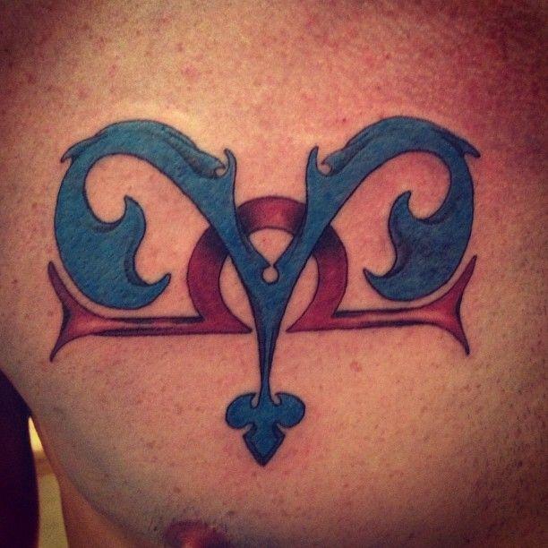 Blue Aries And Libra Tattoo Designs Tattooshunt Com Libra Tattoo Aries And Libra Aries Tattoo