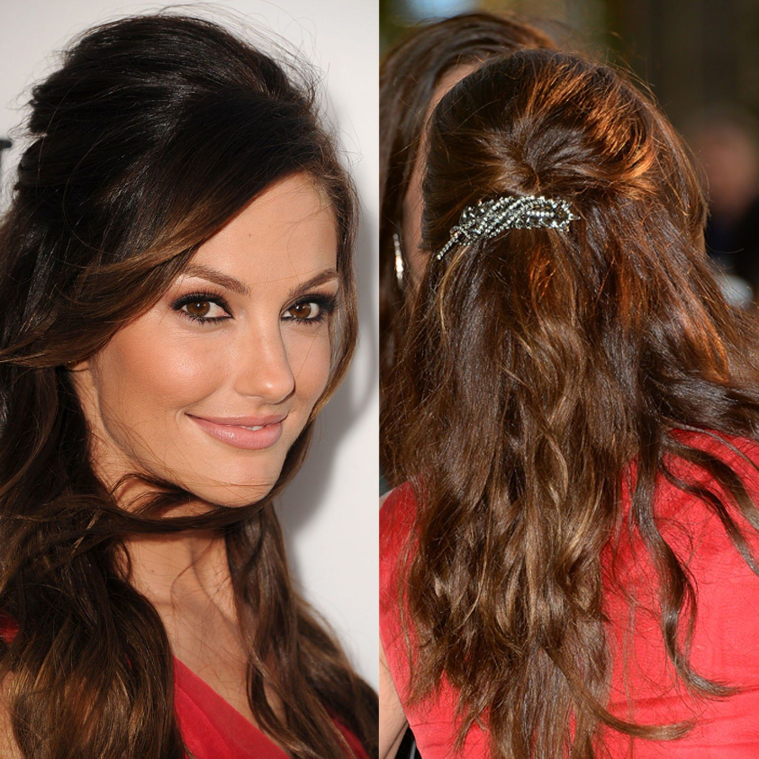 image result for hairstyles with barrettes   hair   minka