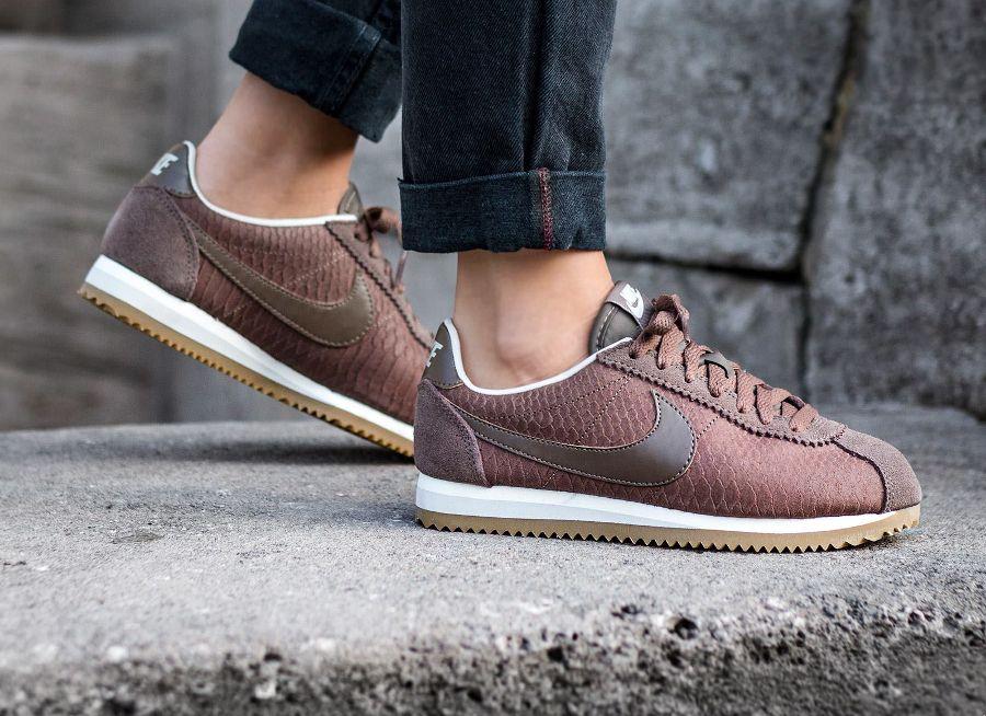 best service ab5a8 65e03 ... Nike-Cortez-Leather-PRM-Palomino-Snake Nike Cortez Leather Premium Nike  Classic Cortez Leather Premium ...