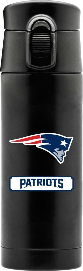 One New England Patriots 16oz Double Wall Stainless Steel Flask From Duckhouse Duckhousesports New Stainless Steel Coffee New England Patriots Coffee Thermos